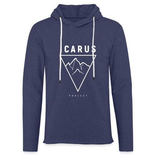 LOGO ICARUS blanc - Sweat-shirt à capuche léger unisexe