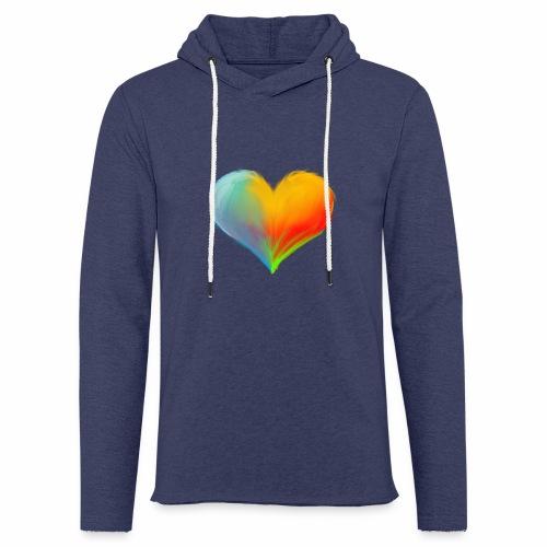 Hart - Lichte hoodie unisex