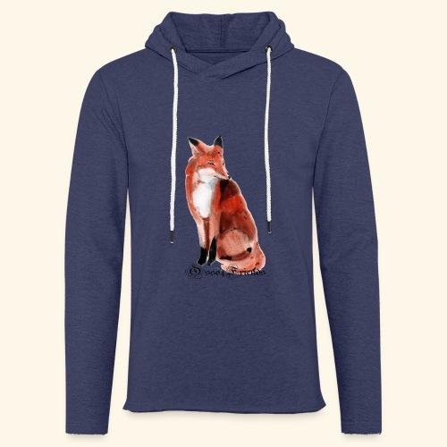 FOX - Felpa con cappuccio leggera unisex