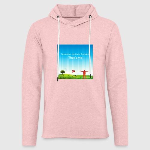 Rolling hills tshirt - Let sweatshirt med hætte, unisex
