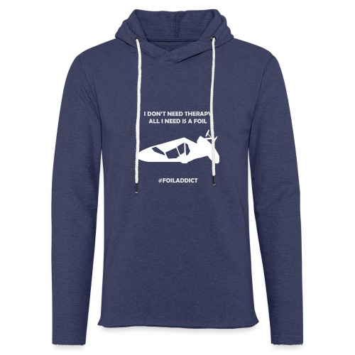 WINDFOIL THERAPY - Light Unisex Sweatshirt Hoodie