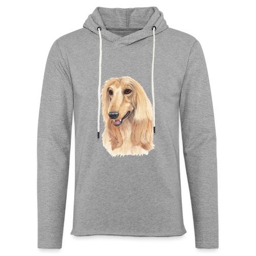 afghanskMynde- A - Let sweatshirt med hætte, unisex