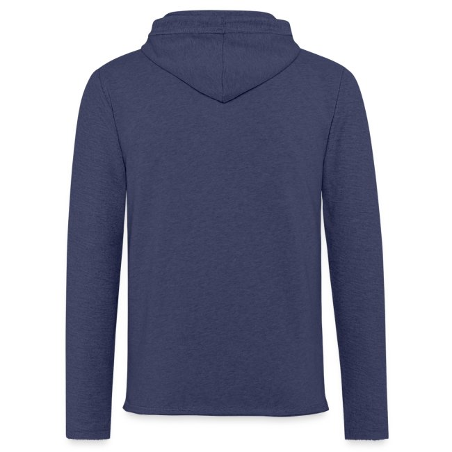 Vorschau: dog paw snowflake - Leichtes Kapuzensweatshirt Unisex