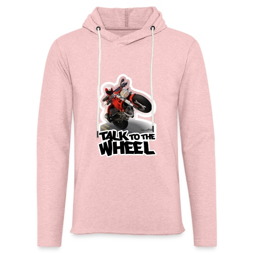 Ducati Monster Wheelie B - Sudadera ligera unisex con capucha