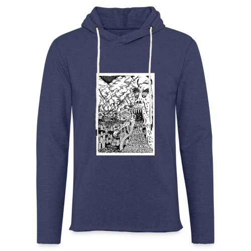 Sea Monsters T-Shirt by Backhouse - Light Unisex Sweatshirt Hoodie