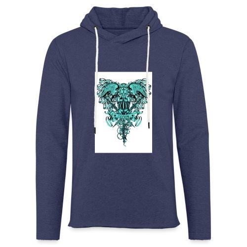 tee template426 - Sweat-shirt à capuche léger unisexe