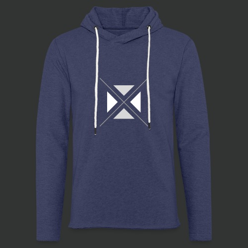 hipster triangles - Light Unisex Sweatshirt Hoodie