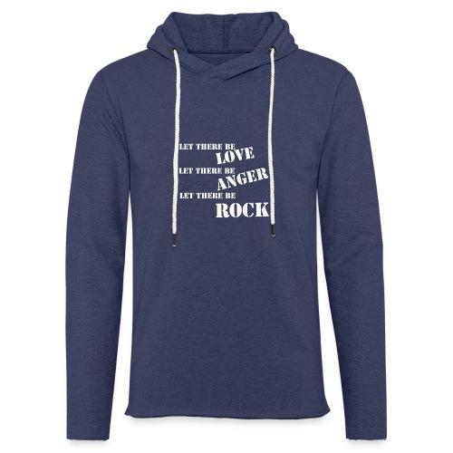 Love Anger Rock - Light Unisex Sweatshirt Hoodie