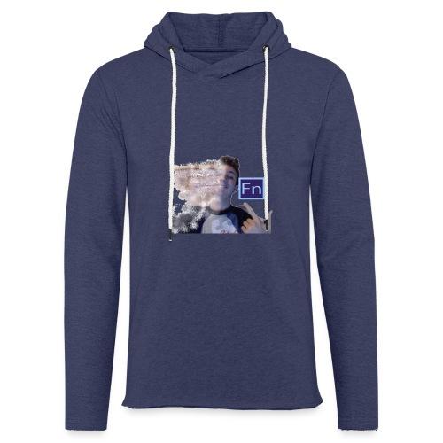 Maglietta falsonome -scomposizione 1 - Felpa con cappuccio leggera unisex