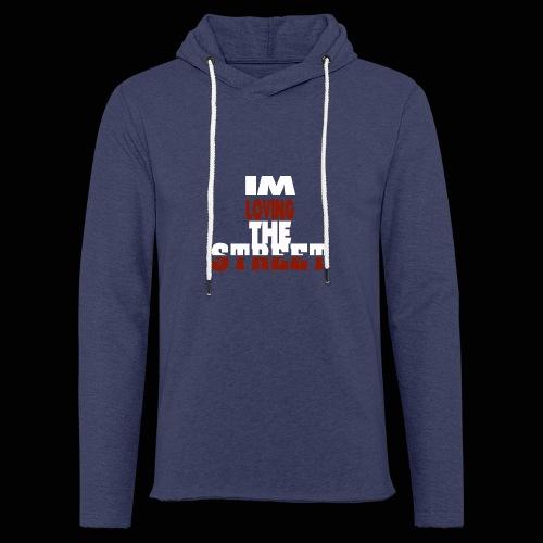IMLOVINGTHESTREET - Let sweatshirt med hætte, unisex