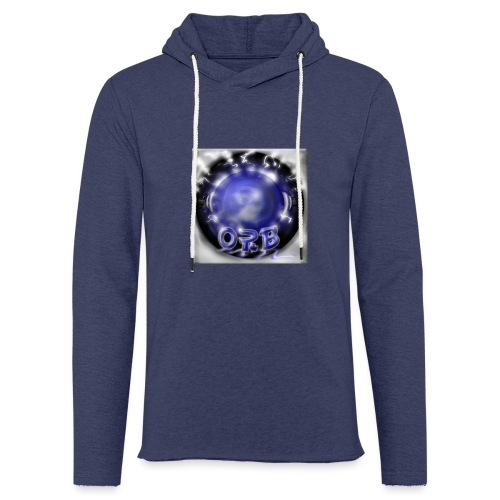 Hyperspace potato Blue Orb - Light Unisex Sweatshirt Hoodie