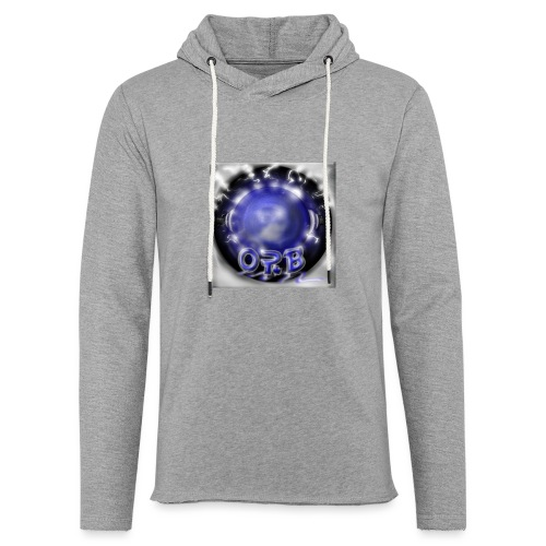 Hyperspace potato Blue Orb - Light Unisex Sweatshirt Hoodie