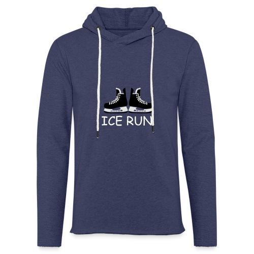 Ice Run - Sweat-shirt à capuche léger unisexe