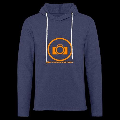Orange 2 png - Let sweatshirt med hætte, unisex
