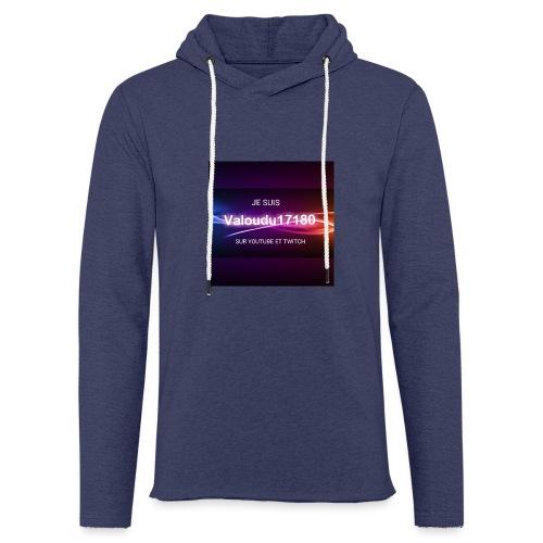 Valoudu17180twitch - Sweat-shirt à capuche léger unisexe