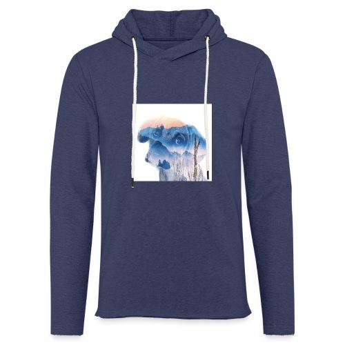 Süsser Hund - Leichtes Kapuzensweatshirt Unisex