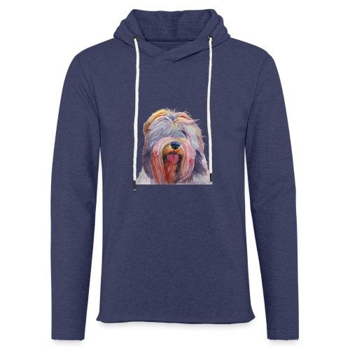 schapendoes - Let sweatshirt med hætte, unisex