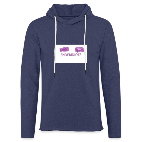 enderproductions enderidiots design - Light Unisex Sweatshirt Hoodie