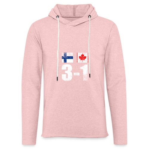 Suomi - Kanada - 3 - 1 - Kevyt unisex-huppari