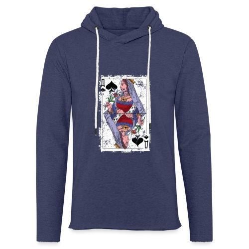 PikQueen Shirt - Leichtes Kapuzensweatshirt Unisex