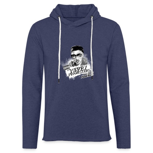 The Merry Pranksters Standard - Black T-Shirt - Light Unisex Sweatshirt Hoodie