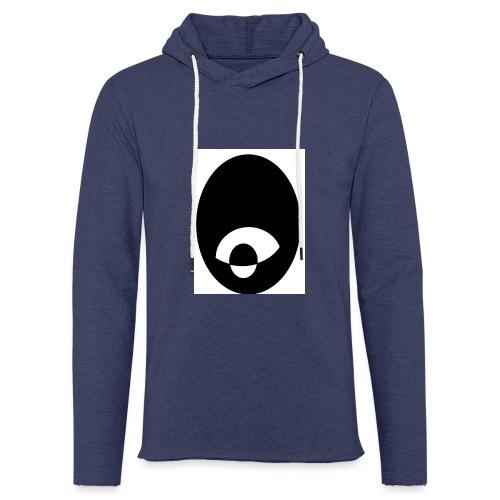 oeildx - Sweat-shirt à capuche léger unisexe