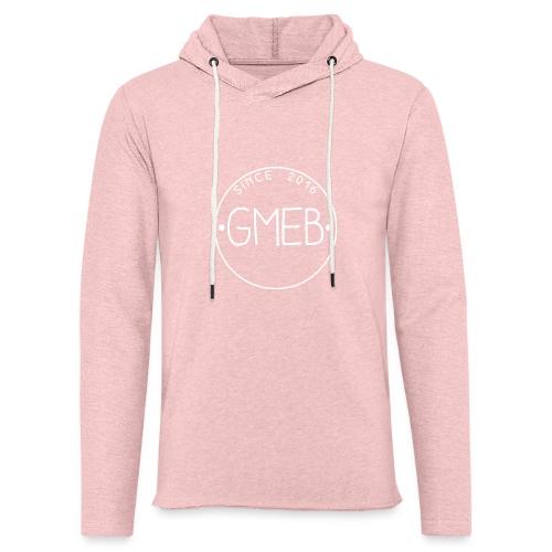 doorschijnend LOGO WIT - Lichte hoodie unisex