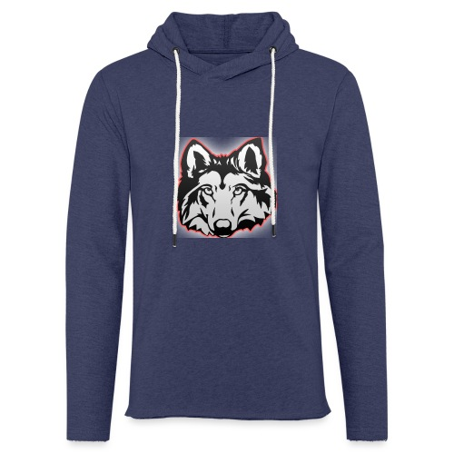 Wolfie (Red) - Light Unisex Sweatshirt Hoodie