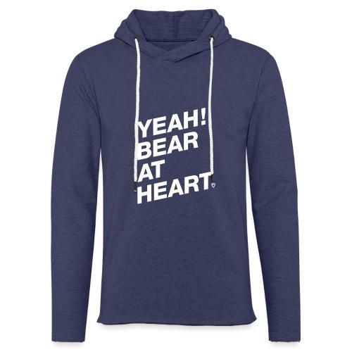 Yeah Bear at Heart - Leichtes Kapuzensweatshirt Unisex