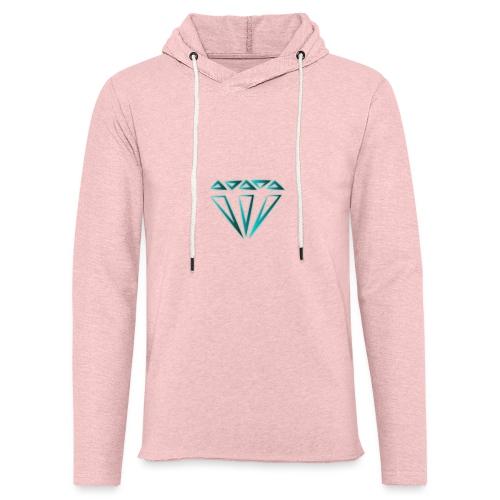 diamante - Felpa con cappuccio leggera unisex