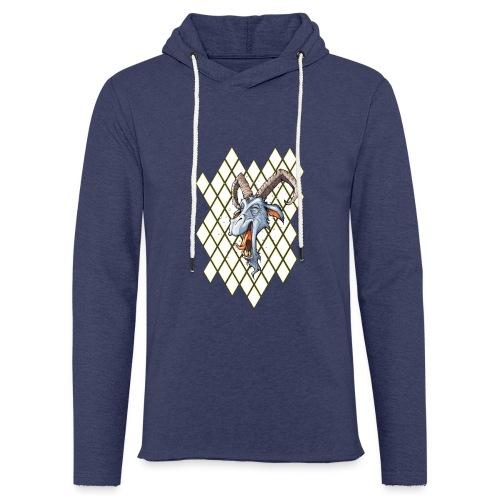blauer bock - Leichtes Kapuzensweatshirt Unisex