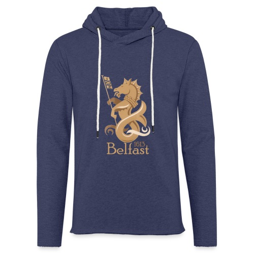 Belfast 1613 Seahorse - Light Unisex Sweatshirt Hoodie