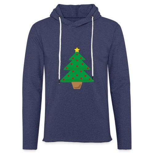Sapin de Noel - Sweat-shirt à capuche léger unisexe
