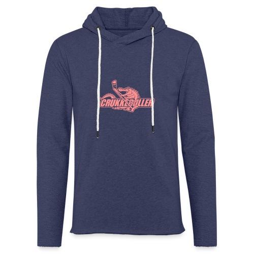 crukkeduller - Let sweatshirt med hætte, unisex
