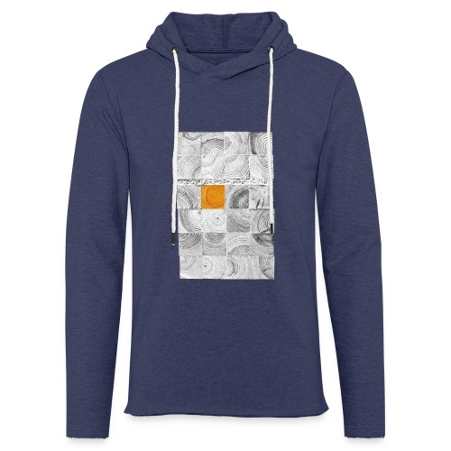 Cubes de Bois - Sweat-shirt à capuche léger unisexe