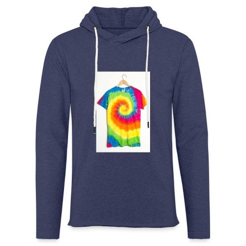 tie die small merch - Light Unisex Sweatshirt Hoodie