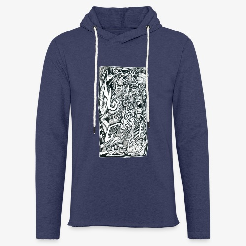 Anxiety Trip - Light Unisex Sweatshirt Hoodie