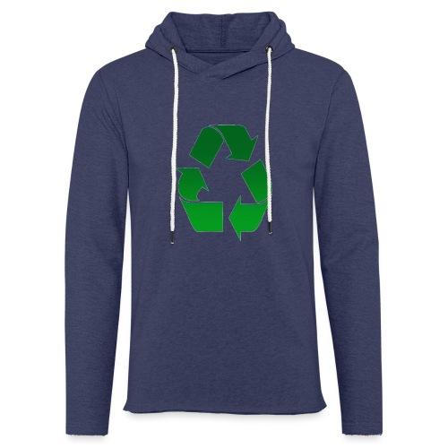 Recyclage - Sweat-shirt à capuche léger unisexe