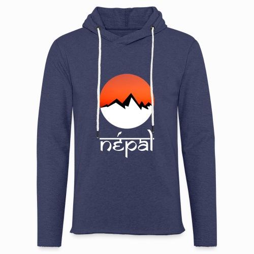 Hoodie Népal - Sweat-shirt à capuche léger unisexe