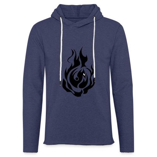 feu - Sweat-shirt à capuche léger unisexe