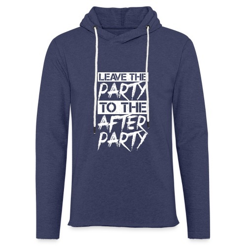 AFTER PARTY WHITE - Lichte hoodie unisex