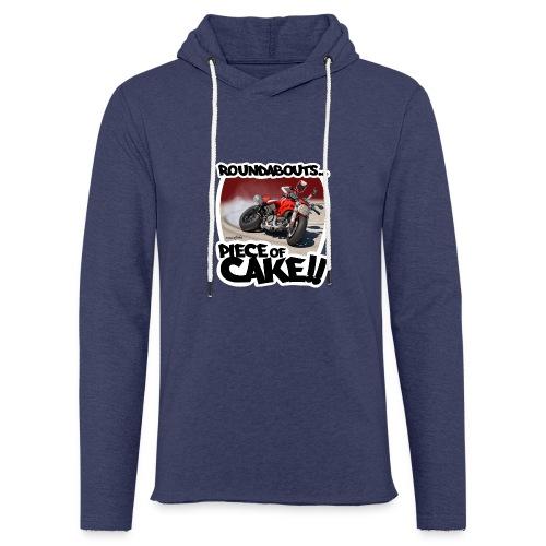 Ducati Monster Skidding - Sudadera ligera unisex con capucha
