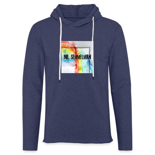 Rainbow In The Dark - Lätt luvtröja unisex