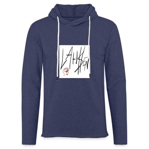 L.M product $ - Sweat-shirt à capuche léger unisexe