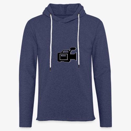 camera - Let sweatshirt med hætte, unisex