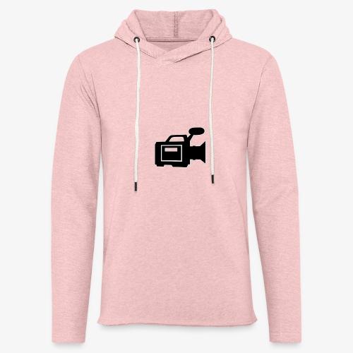camera - Let sweatshirt med hætte, unisex
