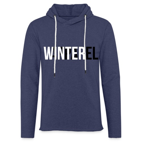 Winter Apparel Logo - Let sweatshirt med hætte, unisex