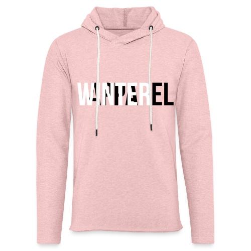 Winter Apparel Logo - Let sweatshirt med hætte, unisex