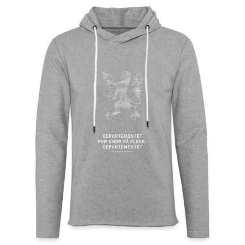Departementsdepartementet (fra Det norske plagg) - Lett unisex hette-sweatshirt