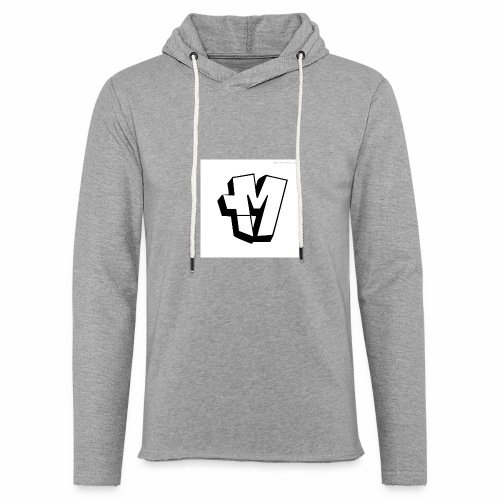 graffiti alphabet m - Light Unisex Sweatshirt Hoodie